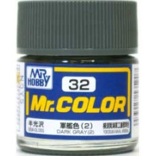Dark Gray(2) Mr. Color 10ml. boja