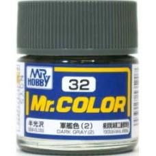 Dark Gray(2) Mr. Color 10ml. boja