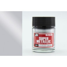 SM-01 Super Silver Mr. Color Super Metallic solventne akrilne boje 18ml