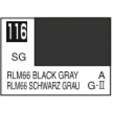 Crno Siva RLM66 Mr. Color 10ml. boja