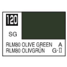 Maslinasto-Zelena RLM80 Mr. Color 10ml. boja