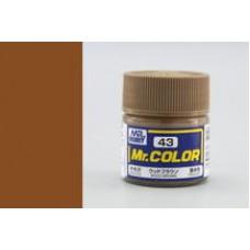 Drvo-braon Mr. Color 10ml. boja