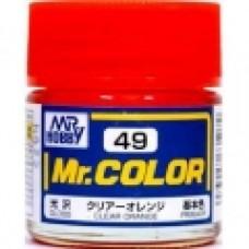 Providno-oranz Mr. Color 10ml. boja