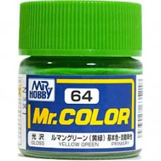 Zuto-zelena Mr. Color 10ml. boja