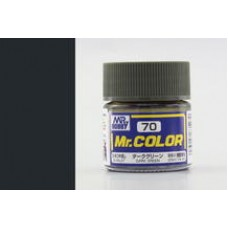Tamno-zelena Mr. Color 10ml. boja