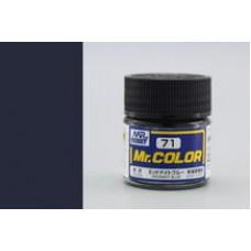 Midnight Blue Mr. Color 10ml. boja