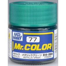 Metallic Zelena Mr. Color 10ml. boja