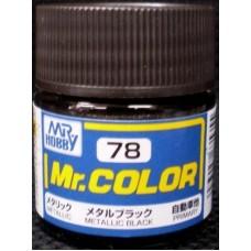 Metallic Crna Mr. Color 10ml. boja