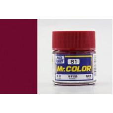 Russet Mr. Color 10ml. boja
