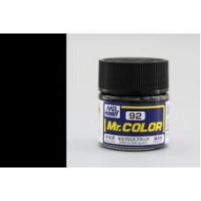 Saten Crna Mr. Color 10ml. boja