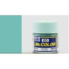 Svetlo-plava Mr. Color 10ml. boja