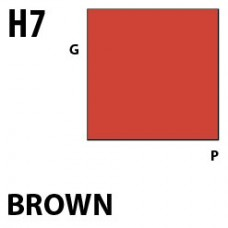 H7Brown Aqueous Hobby 10 ml. boja