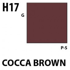 H17Cocoa Brown Aqueous Hobby 10 ml. boja