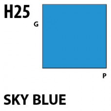 H25 Sky Blue Aqueous Hobby 10 ml. boja