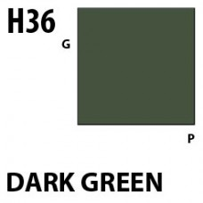 H36 Dark Green Aqueous Hobby 10 ml. boja