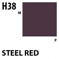 H38 Steel Red Aqueous Hobby 10 ml. boja