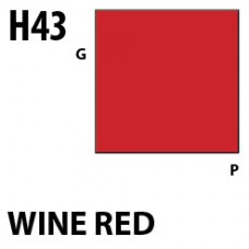 H43 Wine Red Aqueous Hobby 10 ml. boja