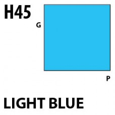 H45 Light Blue Aqueous Hobby 10 ml. boja
