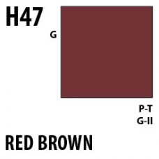 H47 Red Brown Aqueous Hobby 10 ml. boja