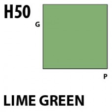 H50 Lime Green Aqueous Hobby 10 ml. boja