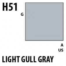 H51 Light Gull Gray Aqueous Hobby 10 ml. boja