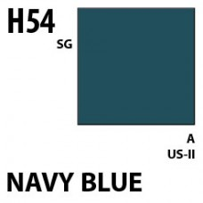 H54 Navy Blue Aqueous Hobby 10 ml. boja