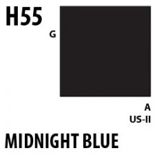 H55 Midnight Blue Aqueous Hobby 10 ml. boja