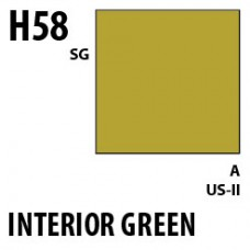 H58 Interior Green Aqueous Hobby 10 ml. boja