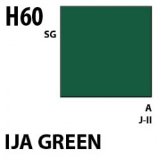 H60 IJA Green Aqueous Hobby 10 ml. boja