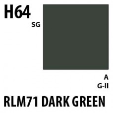 H64 RLM71 Dark Green Aqueous Hobby 10 ml. boja
