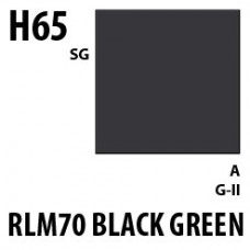 H65 RLM 70 Black Green Aqueous Hobby 10 ml. boja