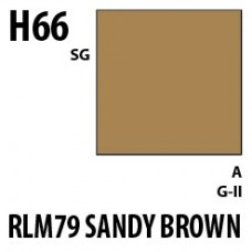 H66 RLM 79 Sandy Brown Aqueous Hobby 10 ml. boja