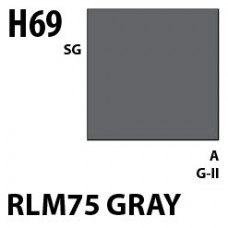 H69 RLM75 Gray Aqueous Hobby 10 ml. boja