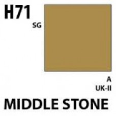 H71 Middle Stone Aqueous Hobby 10 ml. boja