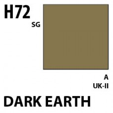 H72 Dark Earth Aqueous Hobby 10 ml. boja