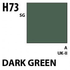 H73 Dark Green Aqueous Hobby 10 ml. boja