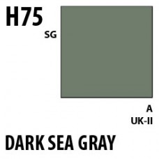 H75 Dark Sea Gray Aqueous Hobby 10 ml. boja