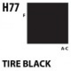 H77 Tire black Aqueous Hobby 10 ml. boja