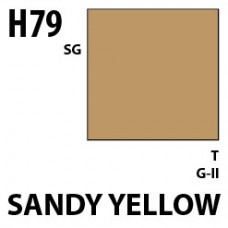 H79 Sandy Yellow (Dark Yellow) Aqueous Hobby 10 ml. boja