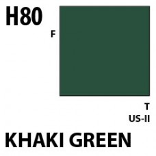H80 Khaki Green Aqueous Hobby 10 ml. boja
