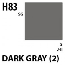 H83 Dark gray (2) Aqueous Hobby 10 ml. boja