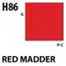 H86 Red Madder Aqueous Hobby 10 ml. boja