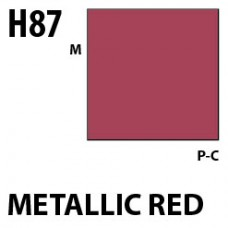 H87 Metallic Red Aqueous Hobby 10 ml. boja