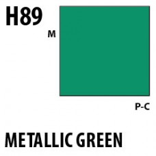 H89 Metallic Green Aqueous Hobby 10 ml. boja