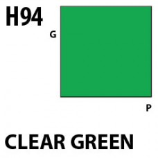 H94 Clear Green Aqueous Hobby 10 ml. boja