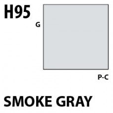 H95 Smoke Gray Aqueous Hobby 10 ml. boja