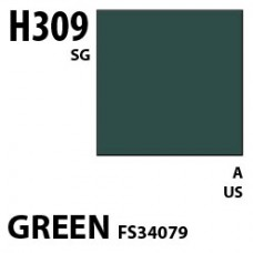 H309 Green FS34079 Aqueous Hobby 10 ml. boja