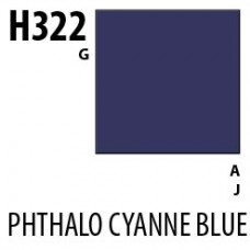 H322 Phthalo Cyanne Blue Aqueous Hobby 10 ml. boja