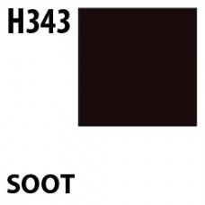 H343 Soot Aqueous Hobby 10 ml. boja