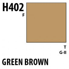H402 Green Brown Aqueous Hobby 10 ml. boja
